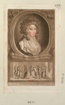 Seraphina Felichiani comt.sse de Cagliostro Mariage du comte de Cagliostro : [estampe]
