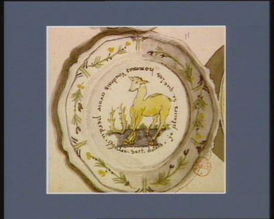 Le  Serf dolens je pleure se que les hommes voudrais avoir perdu <em>1790</em> : [dessin]