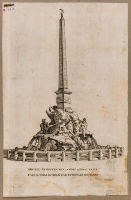 Obelisci ab Innocentio X in Foro Agonali erecti