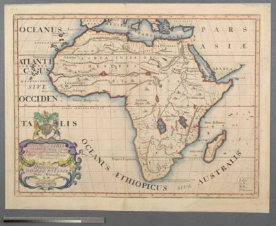A New Map of Libya or old Africk shewing its general Diviſions, moſt remarkable countries or people, cities, townes, rivers, mountains &c