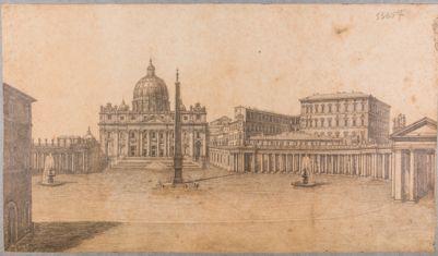Piazza S. Pietro da piazza Rusticucci