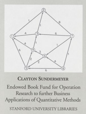 Clayton Sundermeyer Endowed Book Fund for Operation Research to Further Business Applications of Quantitative