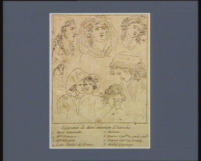 Séparation de Marie Antoinette d'Autriche [estampe]