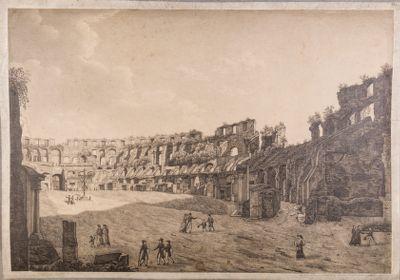 Colosseo, interno