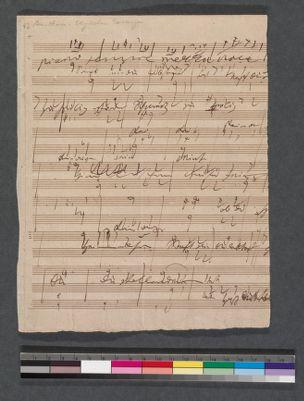 [Elegischer Gesange, opus 118]