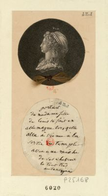 [Portrait de <em>Madame</em>, fille de <em>Louis</em> seize] [estampe]