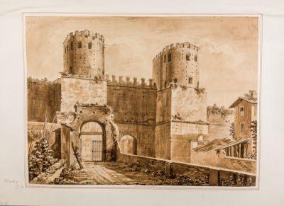 Porta Appia in Roma (Porta San Sebastiano)