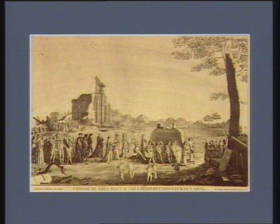 Convoi de très haut & très puissant seigneur des abus mort sous le règne de Louis XVI le 4 may 1789. Des antiques abus le souverain empire... : [estampe]