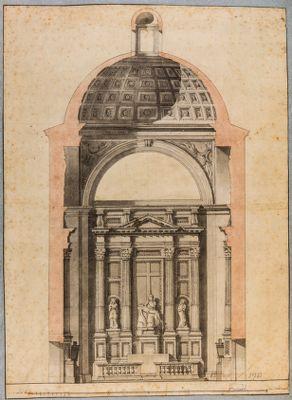 Chiesa di S. Andrea della Valle. Cappella Strozzi