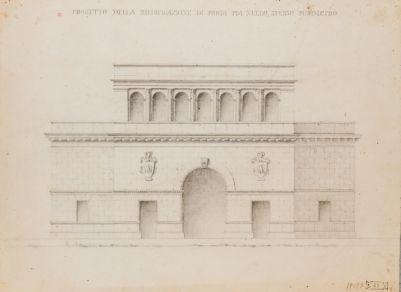 Porta Pia, progetto di sistemazione
