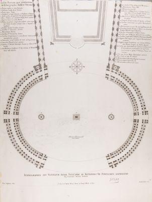 Ichnographia seu Vestigium Arae Vaticanae ab Alexandro VII