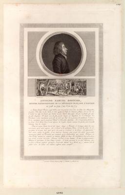 Antoine Samuel Bonnier, ministre plenipotentiaire de la Republique française [estampe]