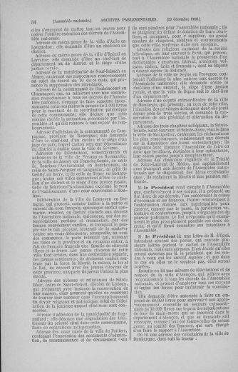 Tome 11 : Du 24 décembre 1789 au 1er mars 1790 - page 34