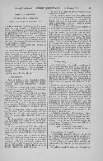 Tome 11 : Du 24 décembre 1789 au 1er mars 1790 - page 43