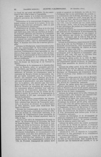 Tome 11 : Du 24 décembre 1789 au 1er mars 1790 - page 44