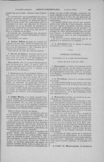 Tome 11 : Du 24 décembre 1789 au 1er mars 1790 - page 67