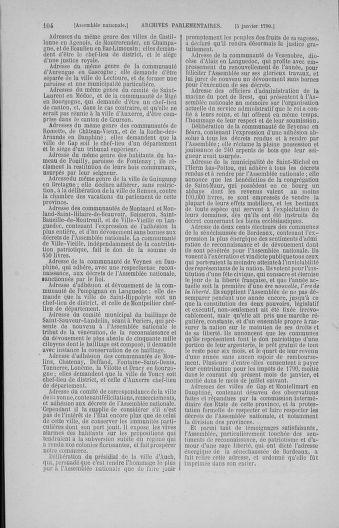 Tome 11 : Du 24 décembre 1789 au 1er mars 1790 - page 104