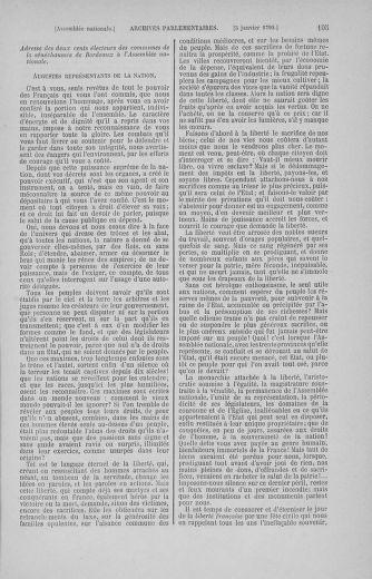 Tome 11 : Du 24 décembre 1789 au 1er mars 1790 - page 105
