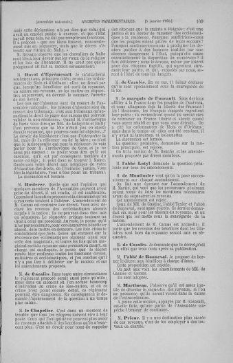 Tome 11 : Du 24 décembre 1789 au 1er mars 1790 - page 109