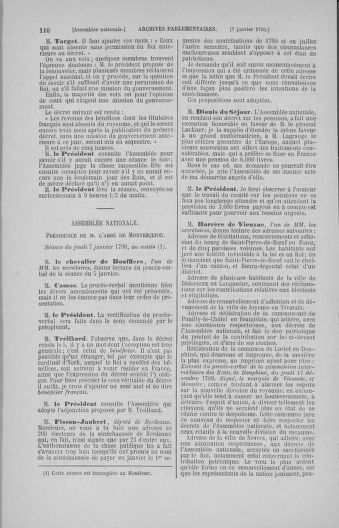Tome 11 : Du 24 décembre 1789 au 1er mars 1790 - page 110
