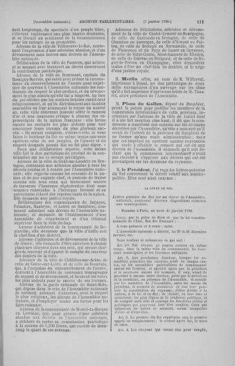 Tome 11 : Du 24 décembre 1789 au 1er mars 1790 - page 111