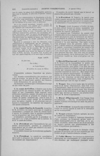 Tome 11 : Du 24 décembre 1789 au 1er mars 1790 - page 112