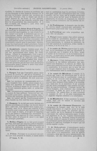Tome 11 : Du 24 décembre 1789 au 1er mars 1790 - page 113