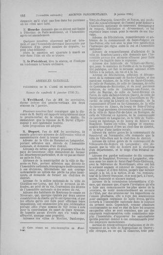 Tome 11 : Du 24 décembre 1789 au 1er mars 1790 - page 116