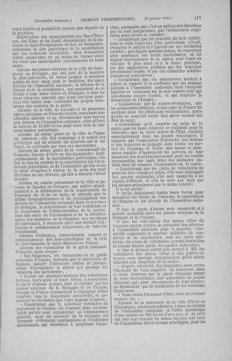 Tome 11 : Du 24 décembre 1789 au 1er mars 1790 - page 117