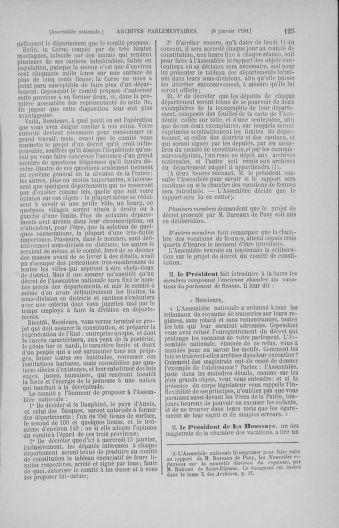 Tome 11 : Du 24 décembre 1789 au 1er mars 1790 - page 125