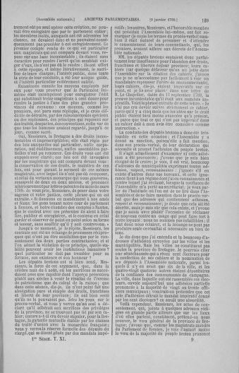 Tome 11 : Du 24 décembre 1789 au 1er mars 1790 - page 129