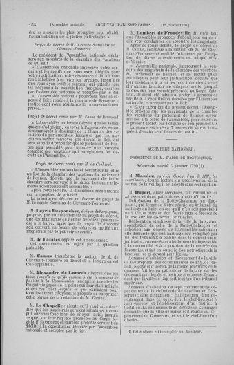 Tome 11 : Du 24 décembre 1789 au 1er mars 1790 - page 168