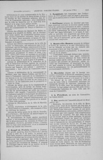 Tome 11 : Du 24 décembre 1789 au 1er mars 1790 - page 169