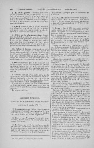 Tome 11 : Du 24 décembre 1789 au 1er mars 1790 - page 186