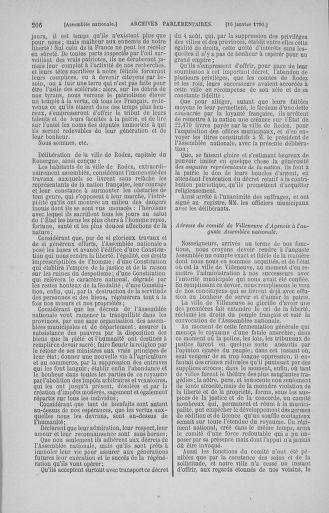 Tome 11 : Du 24 décembre 1789 au 1er mars 1790 - page 206