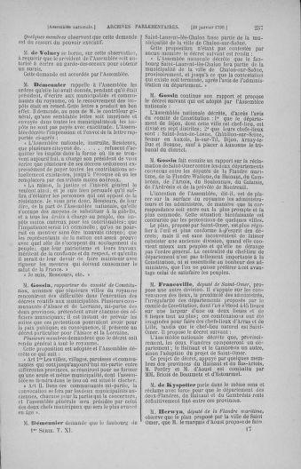 Tome 11 : Du 24 décembre 1789 au 1er mars 1790 - page 257