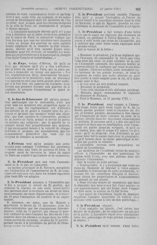 Tome 11 : Du 24 décembre 1789 au 1er mars 1790 - page 265