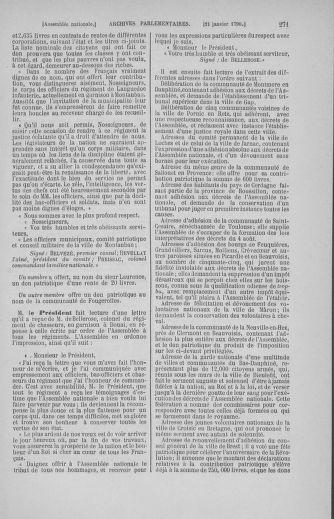 Tome 11 : Du 24 décembre 1789 au 1er mars 1790 - page 271