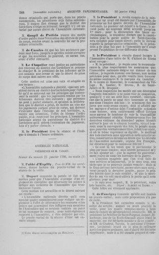 Tome 11 : Du 24 décembre 1789 au 1er mars 1790 - page 288