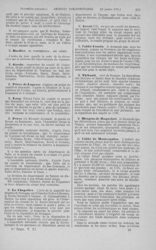 Tome 11 : Du 24 décembre 1789 au 1er mars 1790 - page 289