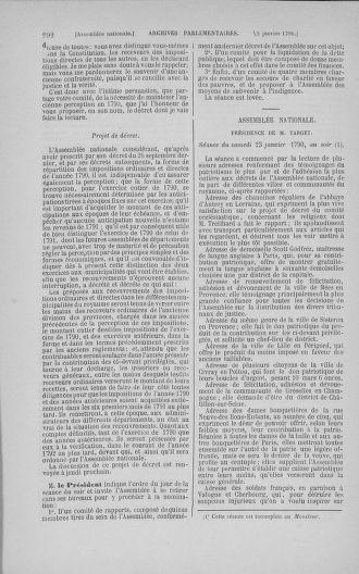 Tome 11 : Du 24 décembre 1789 au 1er mars 1790 - page 292