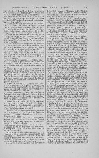 Tome 11 : Du 24 décembre 1789 au 1er mars 1790 - page 293