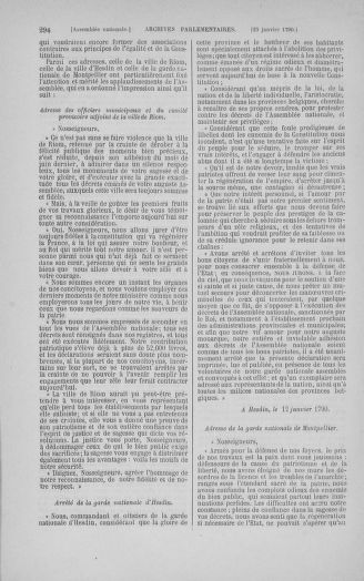 Tome 11 : Du 24 décembre 1789 au 1er mars 1790 - page 294