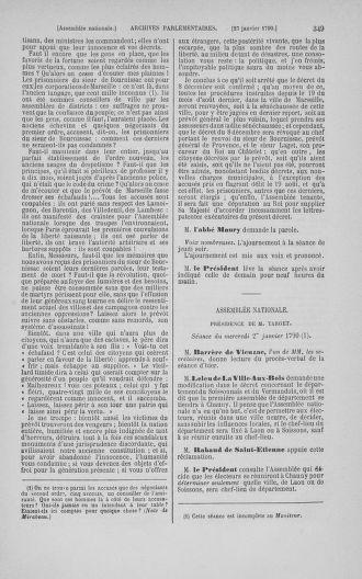Tome 11 : Du 24 décembre 1789 au 1er mars 1790 - page 349