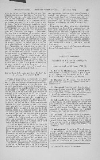 Tome 11 : Du 24 décembre 1789 au 1er mars 1790 - page 373