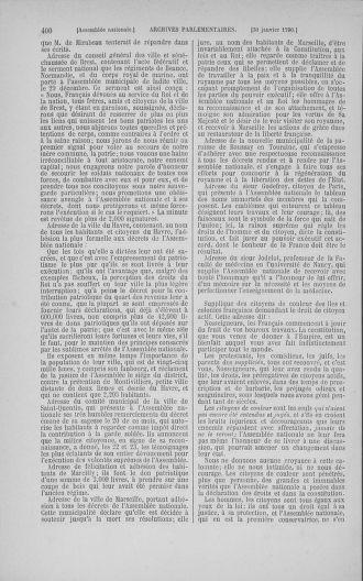 Tome 11 : Du 24 décembre 1789 au 1er mars 1790 - page 400