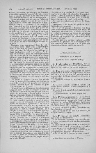 Tome 11 : Du 24 décembre 1789 au 1er mars 1790 - page 406