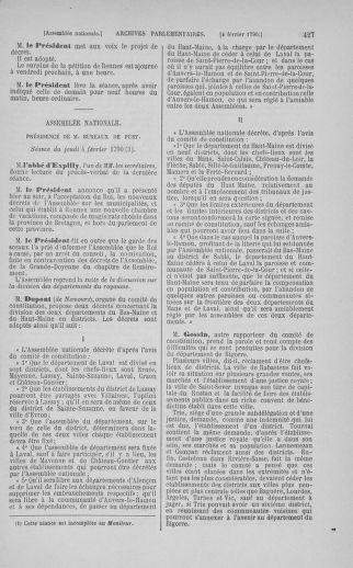 Tome 11 : Du 24 décembre 1789 au 1er mars 1790 - page 427