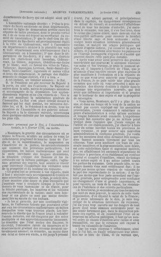 Tome 11 : Du 24 décembre 1789 au 1er mars 1790 - page 429