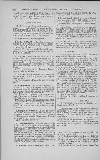 Tome 11 : Du 24 décembre 1789 au 1er mars 1790 - page 436